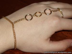 Slave Bracelet Pictorial / PAP para pulseira anel do blogue yasminebijoux.wordpress.com