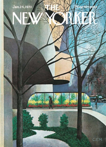 My Favourite NEW YORKER cover and poster!!!!!Charles E. Martin  First published in the New Yorker, January 24, 1970