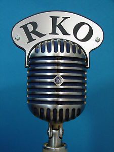 RKO-microphone-flag-for-your-vintage-Shure-55-Fatboy-mic