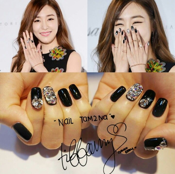 77 best snsd nails images on pinterest nail arts nailart and snsd korean nail art korean nails 25 birthday tiffany hwang nailart nail design celebrity nails goals prinsesfo Image collections