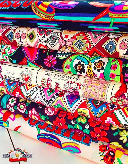 Mexican Fabric, Hispanic, Latin & Folklorico Fabric