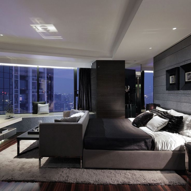 Best 25 luxurious bedrooms ideas on pinterest luxury Modern mens bedroom