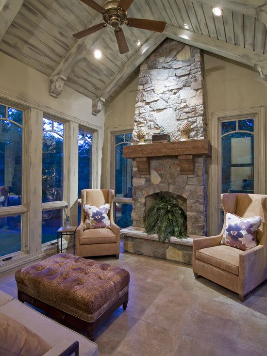 78 Best Images About Sunrooms On Pinterest Fireplaces