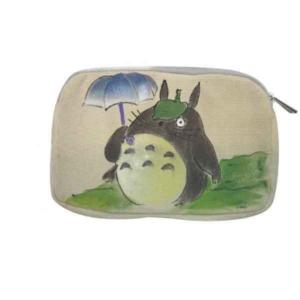 Totoro Makeup Purse from My Neighbor Totoro Hand Painted
