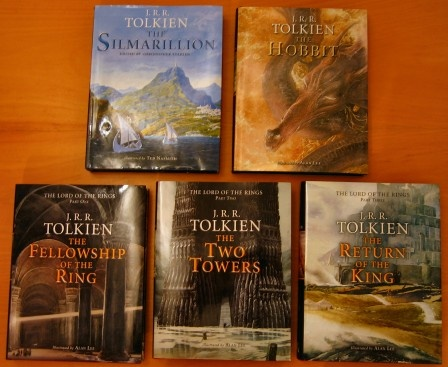 Tolkien was an amazing writer... he created an entire world!