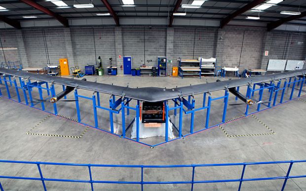Facebook ready to test internet drones using AI-generated population maps (+video)