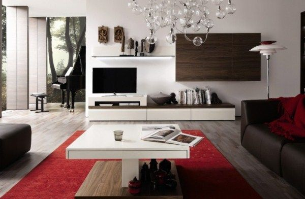 Wooden Finish Wall Unit Combinations From Hülsta #house #housedecor #livingroom #design