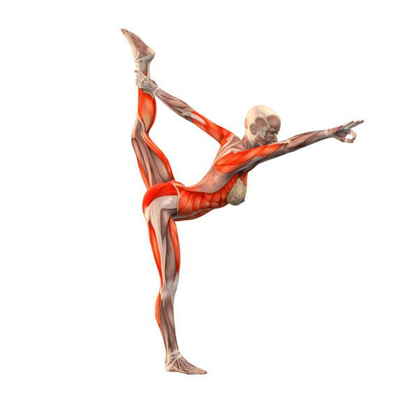 Lord of the dance right - Natarajasana advanced right - Yoga Poses | YOGA.com
