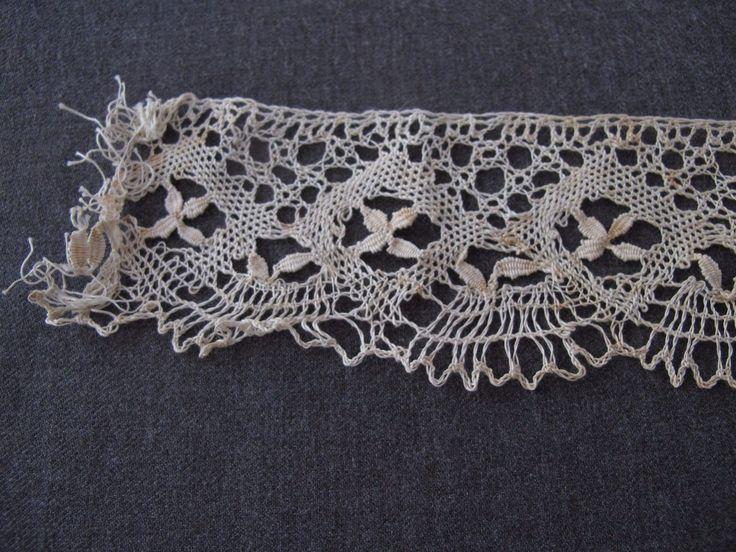 3 Pcs Antique Early 1900's Different Lace Trims Edgings Applique Lot   eBay