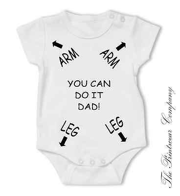 Dad Daddy Instruction Funny Novelty Baby Grow Bodysuit Vest Top Unisex All Sizes in Baby, Clothes, Shoes & Accessories, Other Clothing, Shoes & Accs. | eBay