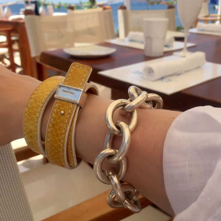 Lunch on the Beach...bracelets by MMzS Jewellery Design