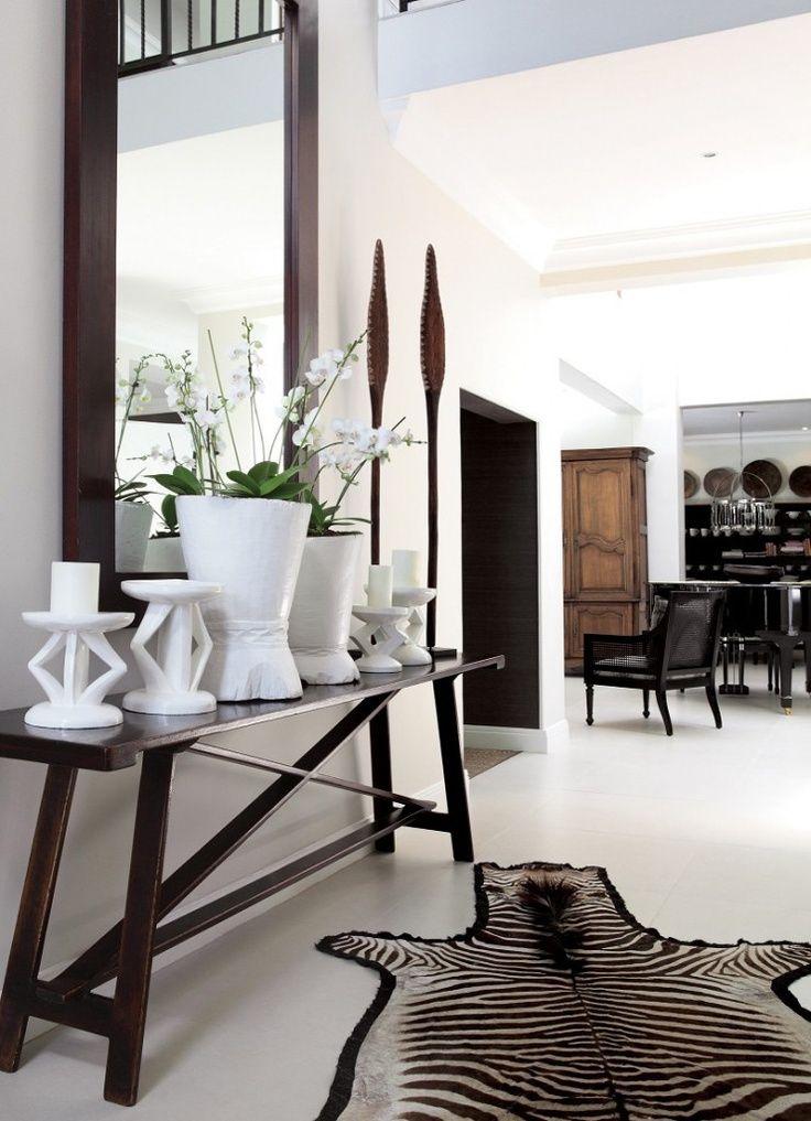 http://www.pinterest.com/joliesarts ∗  »☆Elysian-Interiors ♕Simply Divine #Interiordesign ~  Interior ~ African ~ ethnic ~ accents ~ modern global style