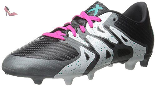 Adidas enfants X 15,3FG/AG J Soccer Taquet - noir - Black/Shock Mint/White, - Chaussures adidas (*Partner-Link)