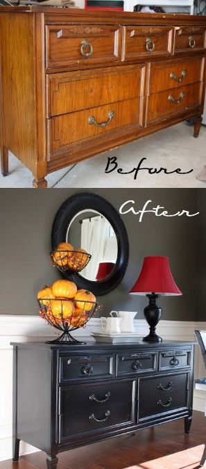 Thrift Store Furniture Re-do
