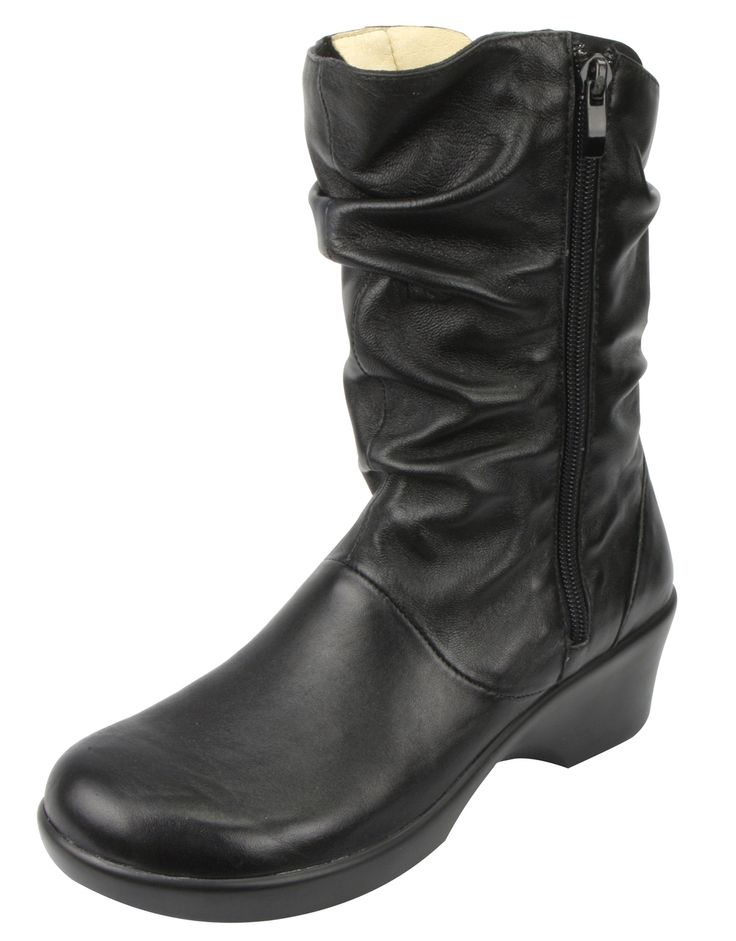 Alegria Shoes - Ivy Black Butter Boot, $179.95 (http://www.