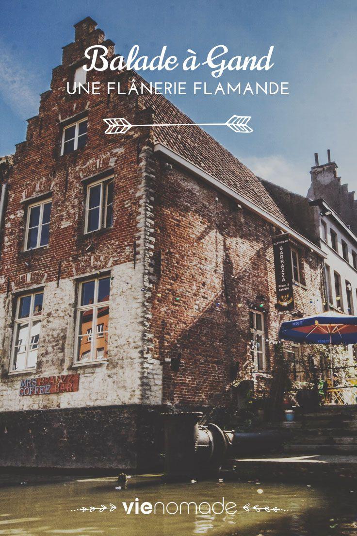 Découvrez la beauté vivante de #Gand à travers ses ruelles, ses marchés du dimanche, et ses petits bateaux. Une ville vibrante qui n'a rien à envier à Bruges!