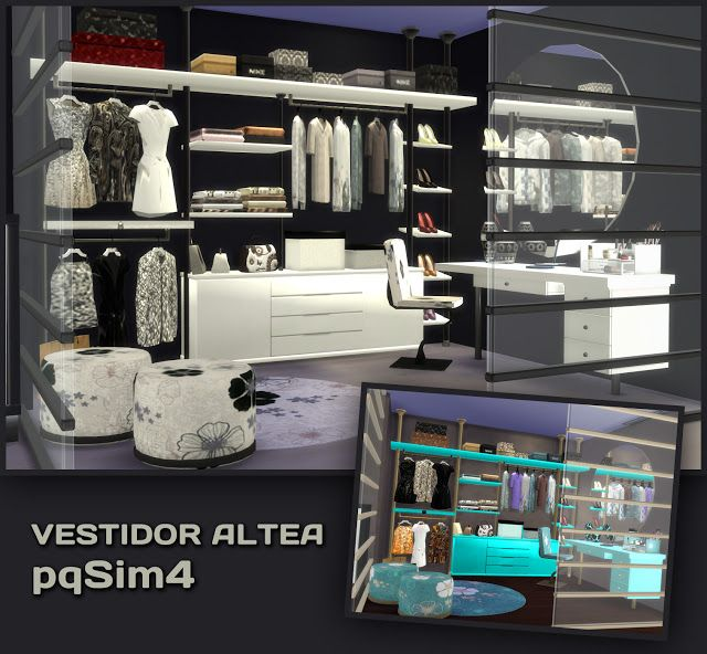 Vestidor Altea. Sims 4 Custom Content. - pqSim4