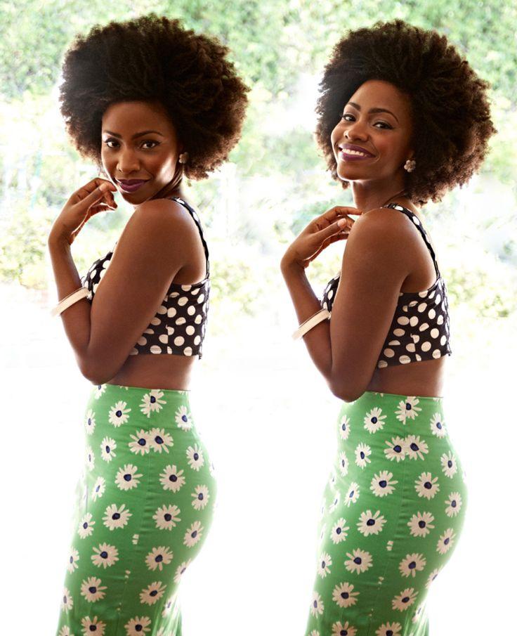 Actress Teyonah Parris photographed by Nina DuncanActresses Teyonah, Fashion, Style, Beautiful, Black Woman, Natural Hair, Nature Hair, Hair Inspiration, Teyonah Parris