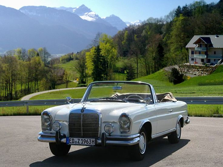 Mercedes Benz 220 SEb Cabrio mieten Sonne pur im 220 SEb Cabrio genießen Als W 111 gab es das Coupé und Cabriolet anfangs mit der gleichen Technik des Limousinen-Modells 220 SE als 220 SEb/C.