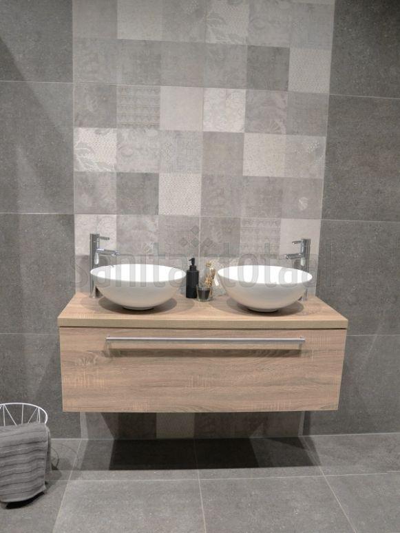 Badkamer ideeën, badkamer inspiratie, badmeubel met ...