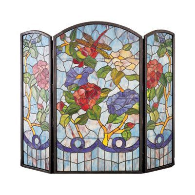 32 Best Stain Glass Fire Place Covers Images On Pinterest