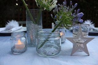 Glittering jars