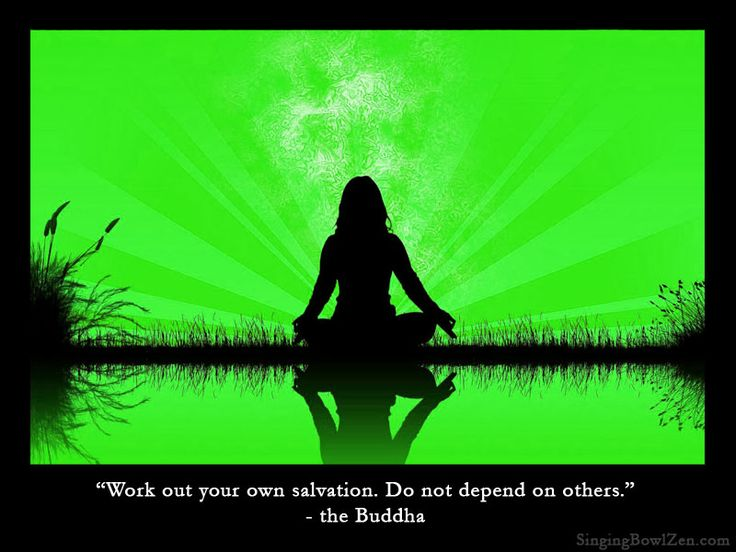 buddhism how to achieve salvation
