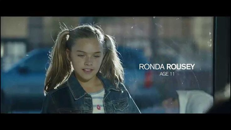 Using Ronda Rousey's family in a direct advertisement to sell UFC 193. She is at the end showing her skills which directly correlates to the fight on 193. By watching this commercial, you are getting direct insight into what is going to happen next.