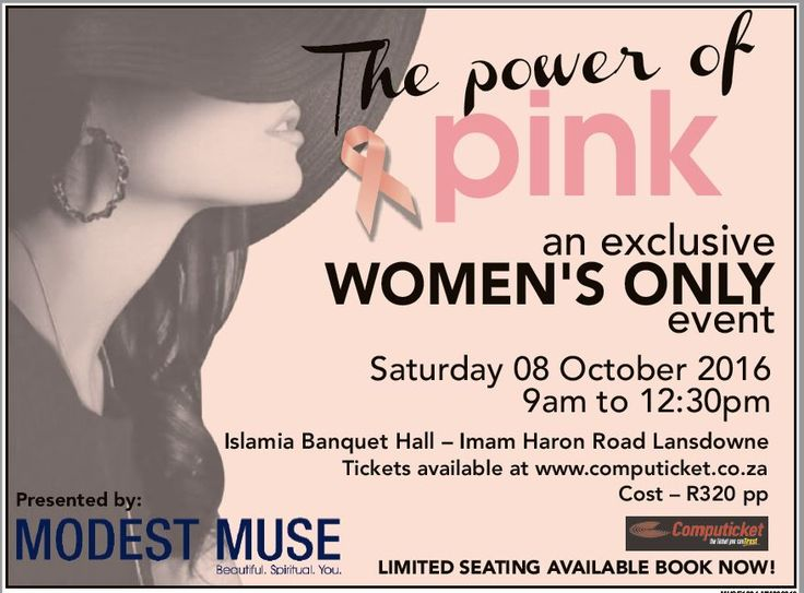 MODEST MUSE EXCLUSIVE POWER OF PINK EVENT IS ON! JOIN US, WE HAVE LOTS TO…