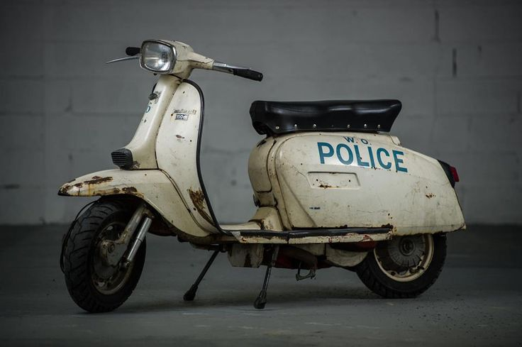 How funny would it be to be pulled over by one of these. Maybe if walking :)