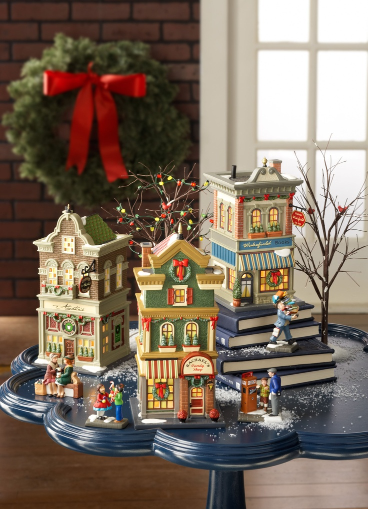 9 best images about department 56 christmas in the city on. Black Bedroom Furniture Sets. Home Design Ideas