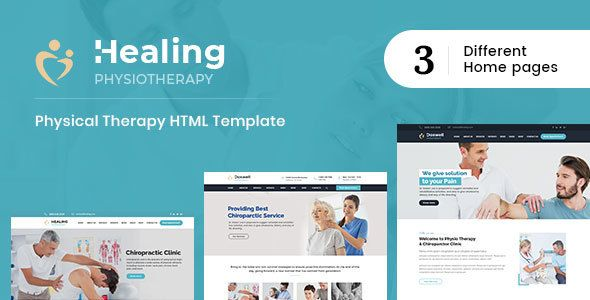 Healing Physical Therapy Html Template Columns 3 Bootstrap Chiropractor Healthcare Massage Orthopedi Physical Therapy Wordpress Theme Physics