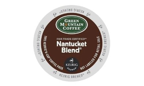 Best Coffee Blend K-Cup: Green Mountain Coffee Nantucket Blend K-Cups (72 count)