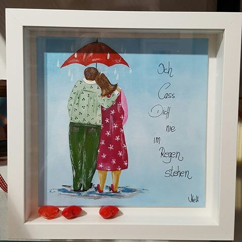 Ich lass dich nie im Regen stehen.  ~ Bilder von NELL (Cornelia Elbers).. de.dawanda.com/….. www.facebook.com/…