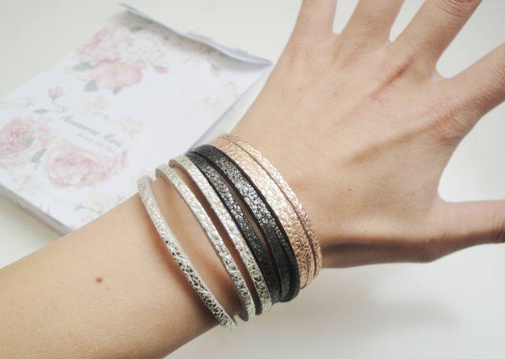 Vezi Autumn - Winer Collection 2014 de la AccessoriesMaria pe Breslo #leather #necklace #earrings #handmade #jewelry #accessories #autumn #winter #collection