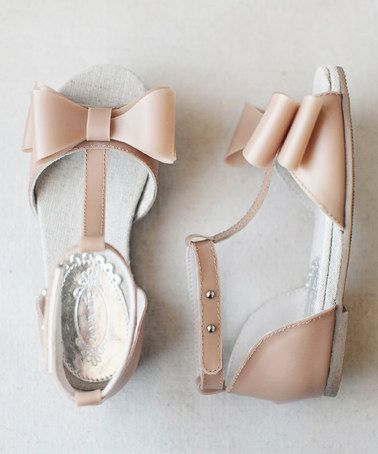 Another great find on #zulily! Nude Naomi Sandal & Hair Clip by Joyfolie #zulilyfinds