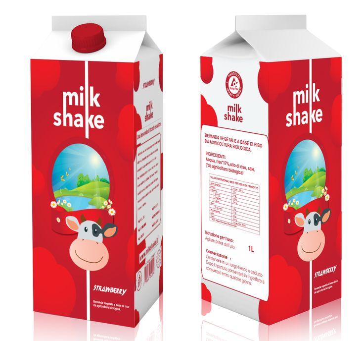 Milk shake Packaging