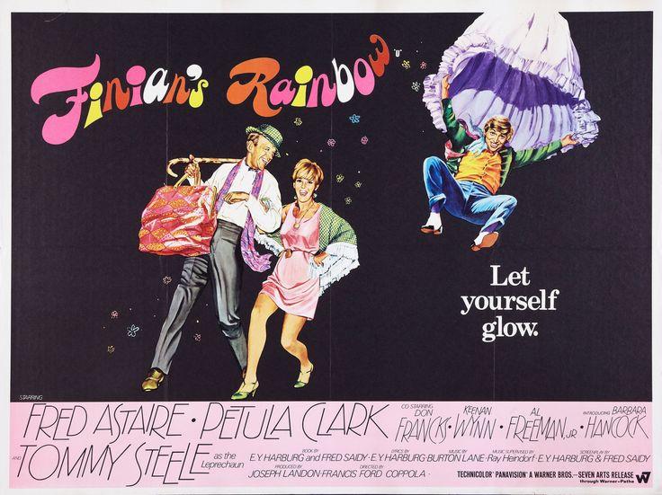 FINIAN'S RAINBOW original release British Quad movie poster.