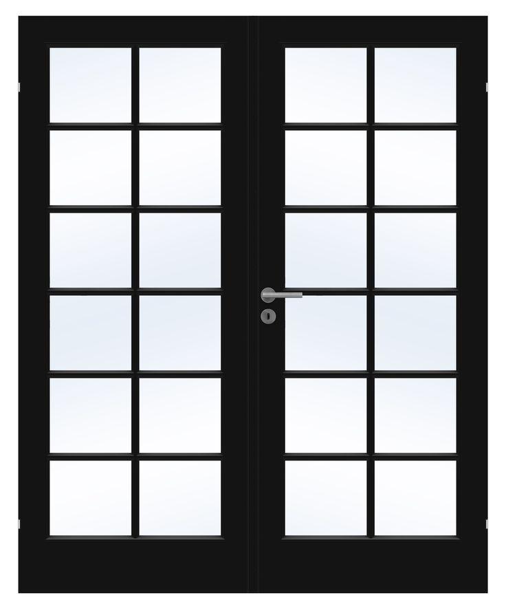 Klassiske doble dører Compact fra Swedoor