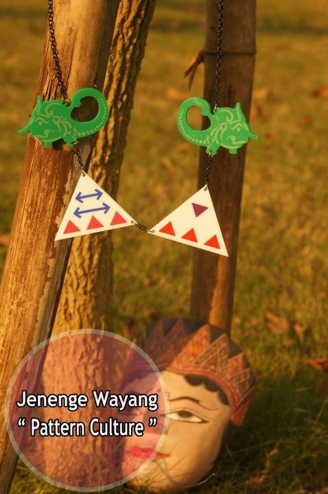 """ Necklace Jenenge Wayang - Pattern Culture ""  Original Design from Brand Indonesia . We ♥ Culture"