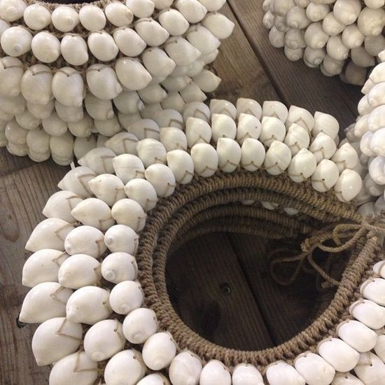 ✶Natural shell and hemp necklaces | ©Love Warriors✶