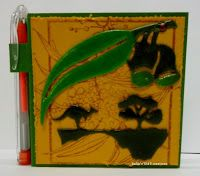 BaRb'n'ShEll Creations-covered post it notes-BaRb