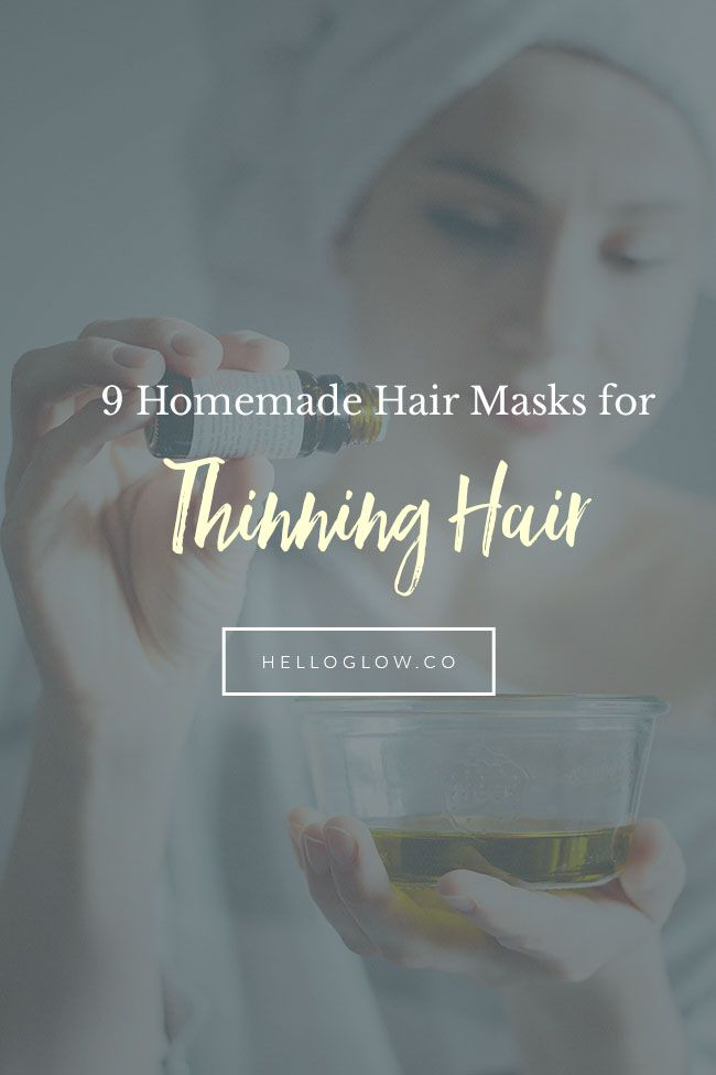 9 Homemade Hair Mask recipes to soothe your scalp, stimulate new hair growth and give you fuller, thicker strands. These natural remedies really work!