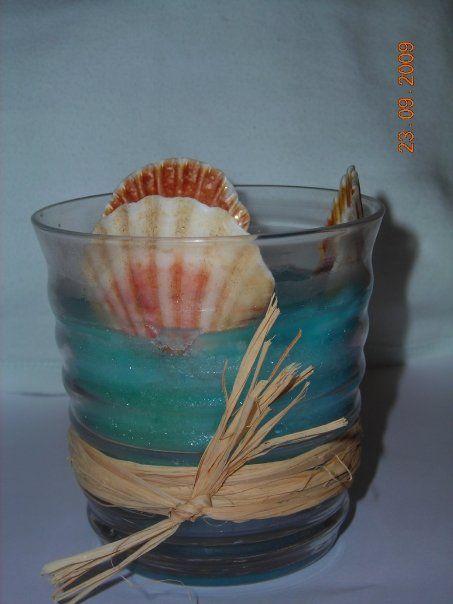 my candles (χειροποιητα κηροτεχνηματα) μπομπονιερα