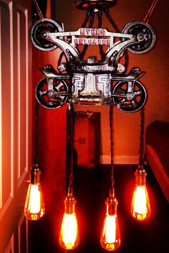 90 Best Trolley Images On Pinterest Pulley Lighting Ideas And