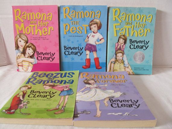 32 best beezus and ramona images on pinterest beverly cleary beverly cleary books beezus and ramona set of 5 by cellardeals fandeluxe Gallery