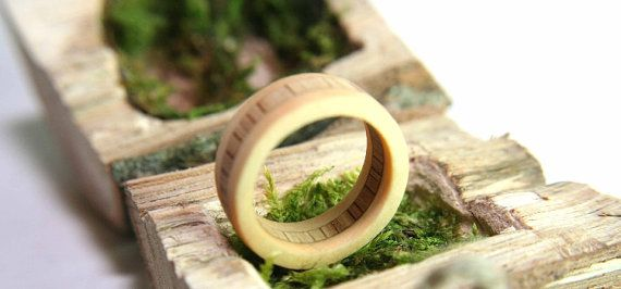 The Light Lighthearted Engagement Rings by goosmanndesign on Etsy #engagemantrings #woodenrings #wood #rings #handmade