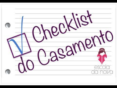 Checklist do casamento completo para download mês a mês