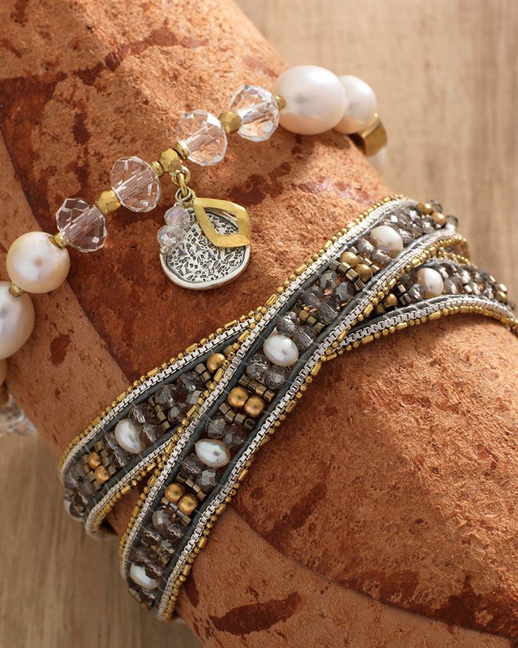 Layers of Luxury Wrap Bracelet | Jewelry by Silpada Designs