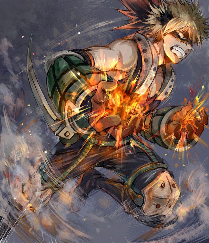 Boku no Hero Academia Katsuki Bakugou Boku no Hero